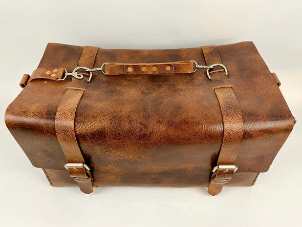 Seasoned No. 613 - Large Duffle in Glazed Tan