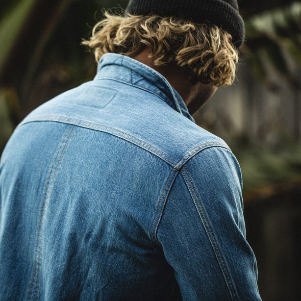 The Long Haul Jacket in Organic '68 24 Month Wash by Taylor Stitch