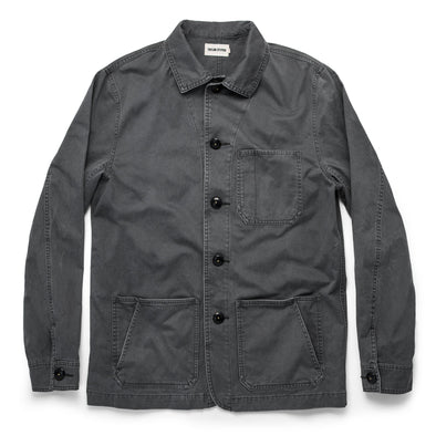 The Ojai Jacket in Washed Charcoal by Taylor Stitch
