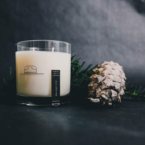 Balsam Fir Candle by Ranger Station