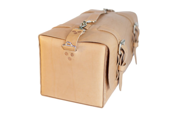 No. 613 - Small Duffle in Natural Tan