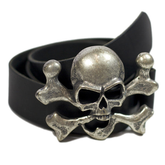 No. 412 - The Skull Belt - ONLY 4 LEFT