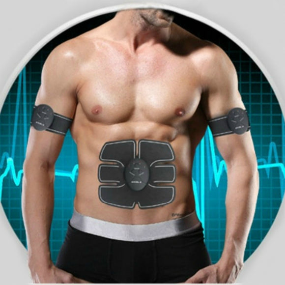 Unisex EMS Wireless Muscle Stimulator for Abdominal Training and Body Slimming