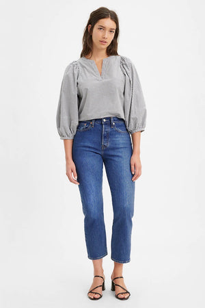 Levi's Wedgie Straight Fit Jean (Market Stance)
