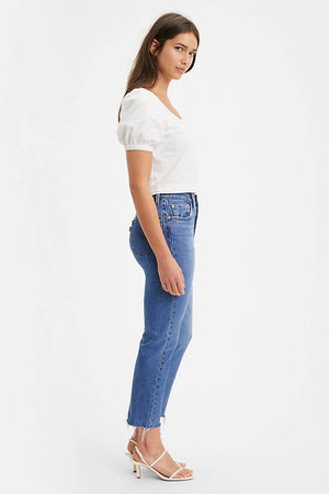 Levi's 501 Crop Fit Jean (Charleston Fun)