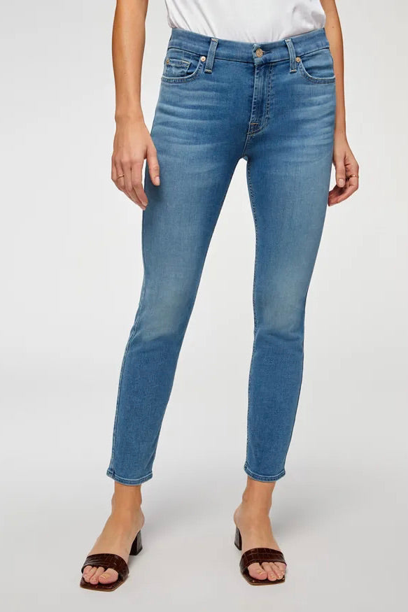 Seven For All Mankind The Ankle Skinny (Serenity Blue)