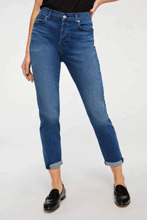 7 For All Mankind Josefina (Peace Blue)