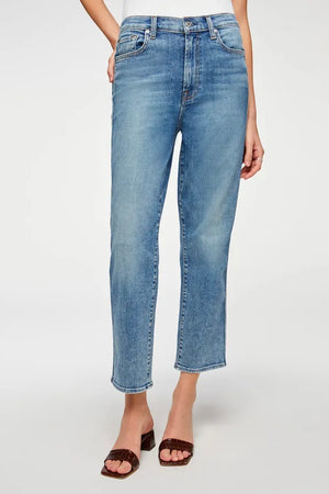 Seven For All Mankind Cropped Straight (Sloane Vintage)