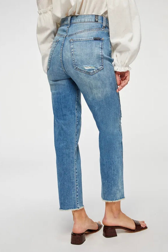 Seven For All Mankind Cropped Straight (Aquarius)