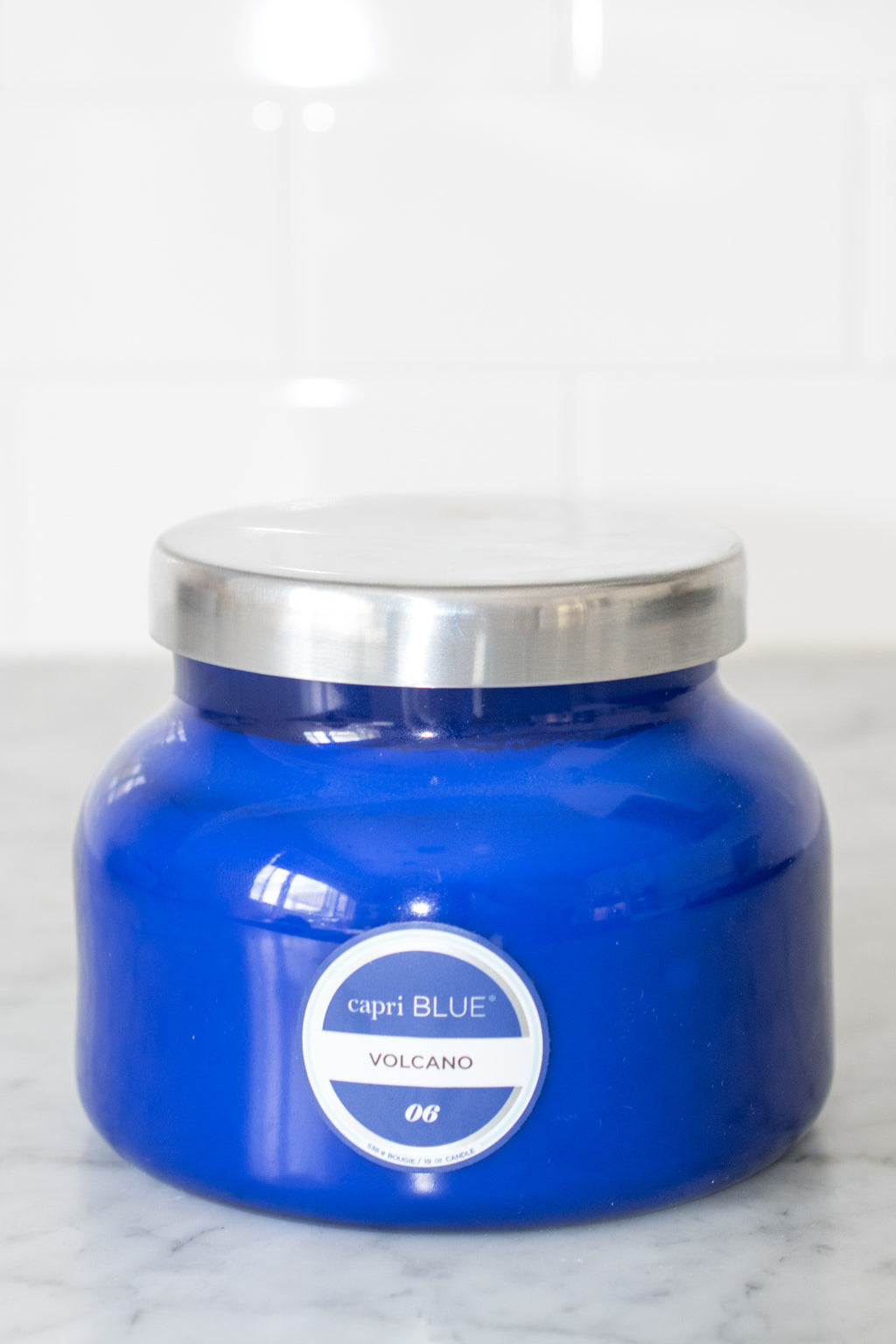 capri BLUE® Signature Candle Jar 19 oz (Volcano Blue)