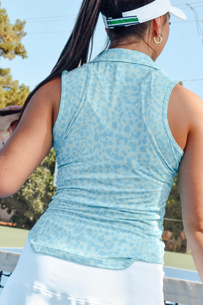Ahdorned Mini Neoprene Messenger Bag (Turquoise)