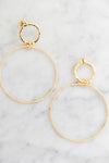 "Collections ""Callisto"" Drop Earrings (Gold Tone)"
