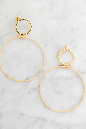 Callisto Drop Earrings (Gold)