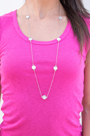 "Collections "" Hera"" Chain Necklace (Silver)"