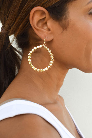 "Collections ""Starry Night"" Hoop Earrings"
