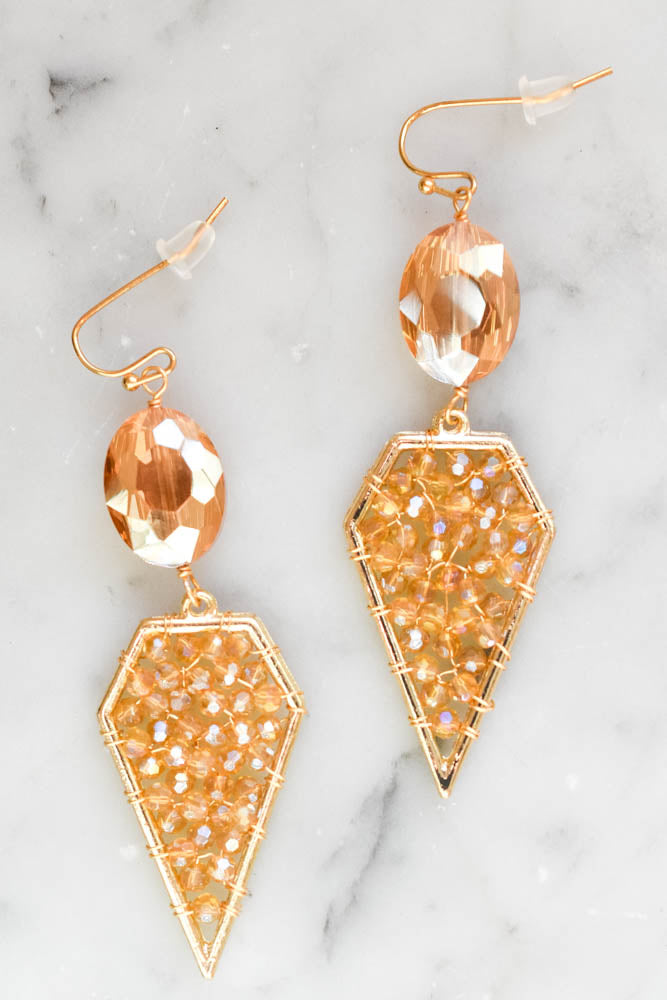 Nikki Beaded Earrings