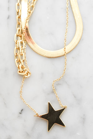 Stary Night Layered Necklace