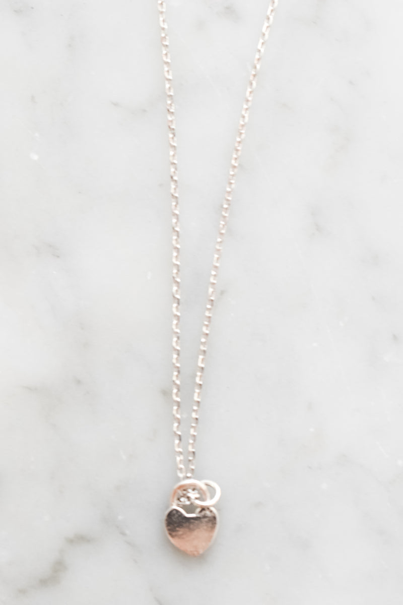 Heart Lock Necklace