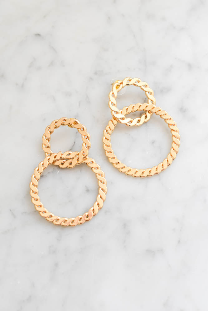 Looped in Love Earrings
