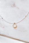 Simple Daisy Necklace
