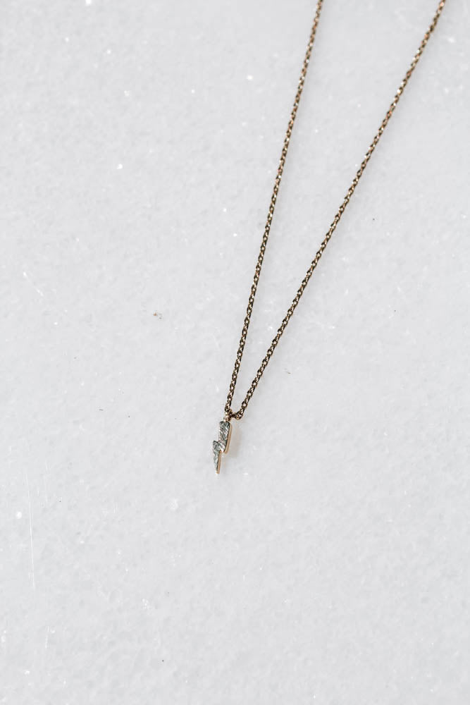 Mini Bolt Necklace
