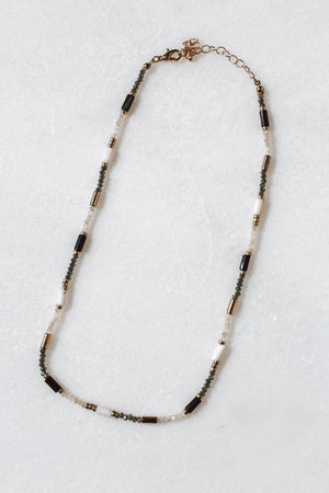 Everly Necklace (Black)