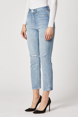 Hudson Holly High Rise Straight Crop