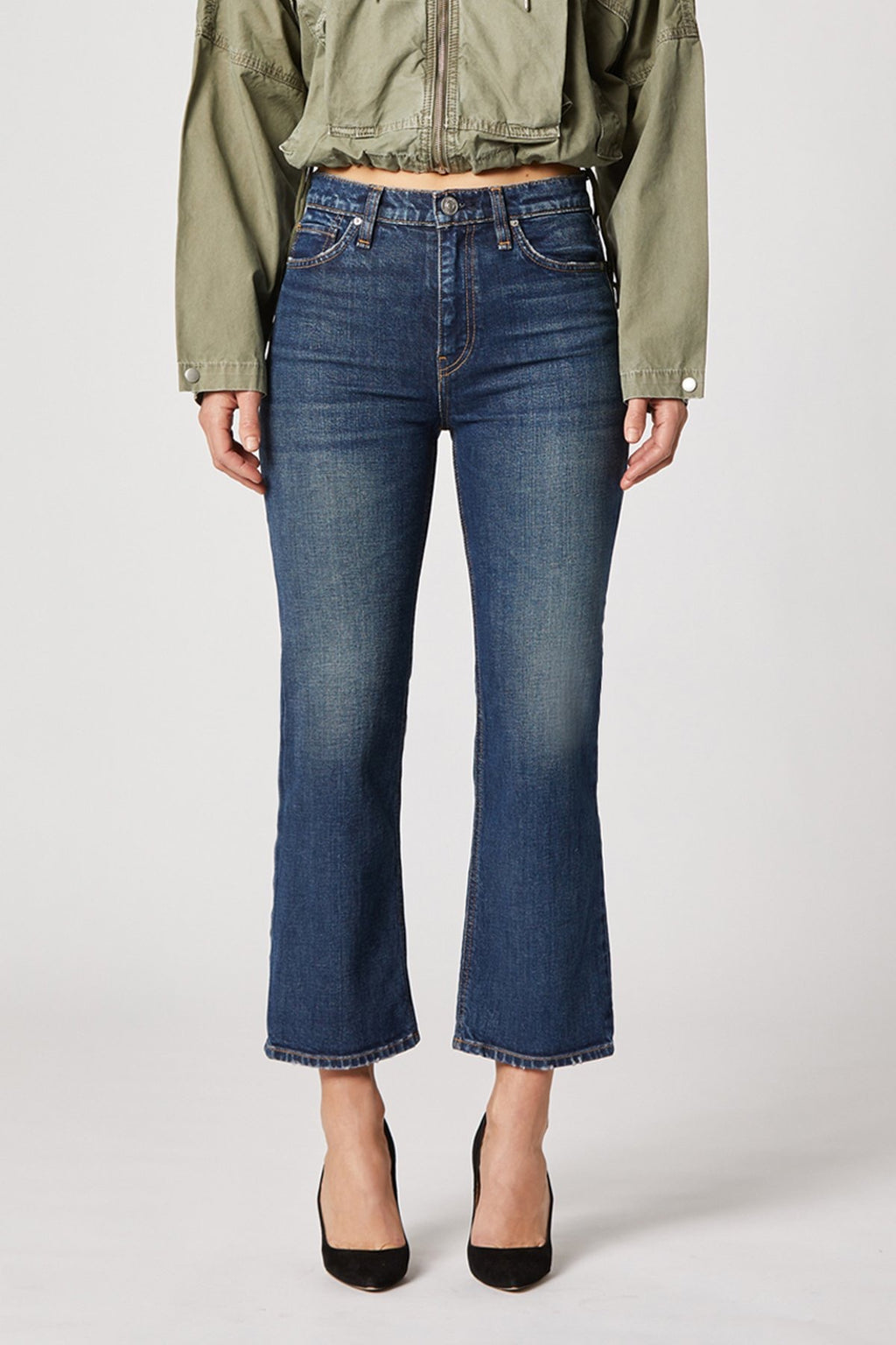 Hudson Remi High Rise Straight Crop