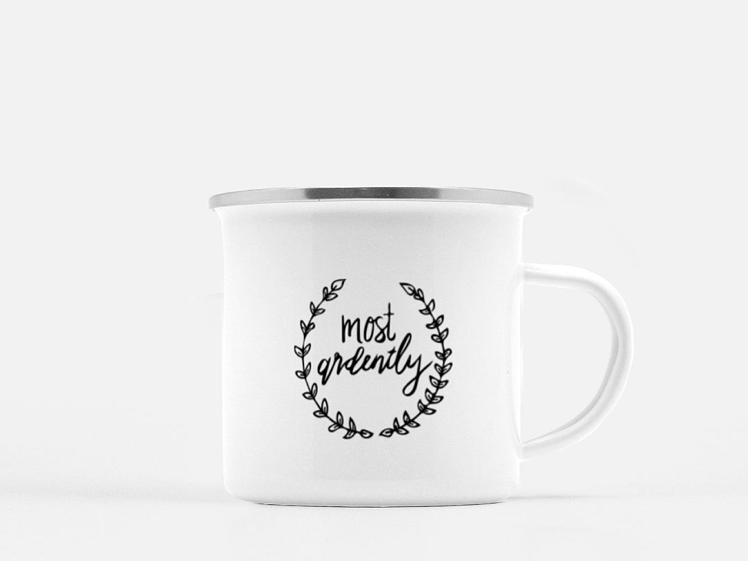 """Most Ardently"" Campfire Mug"