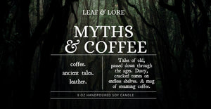 Myths & Coffee | Bookish Collection