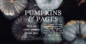 Pumpkins & Pages | Autumn Collection