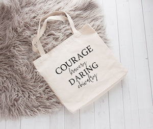 """House of the Brave"" Book Tote"