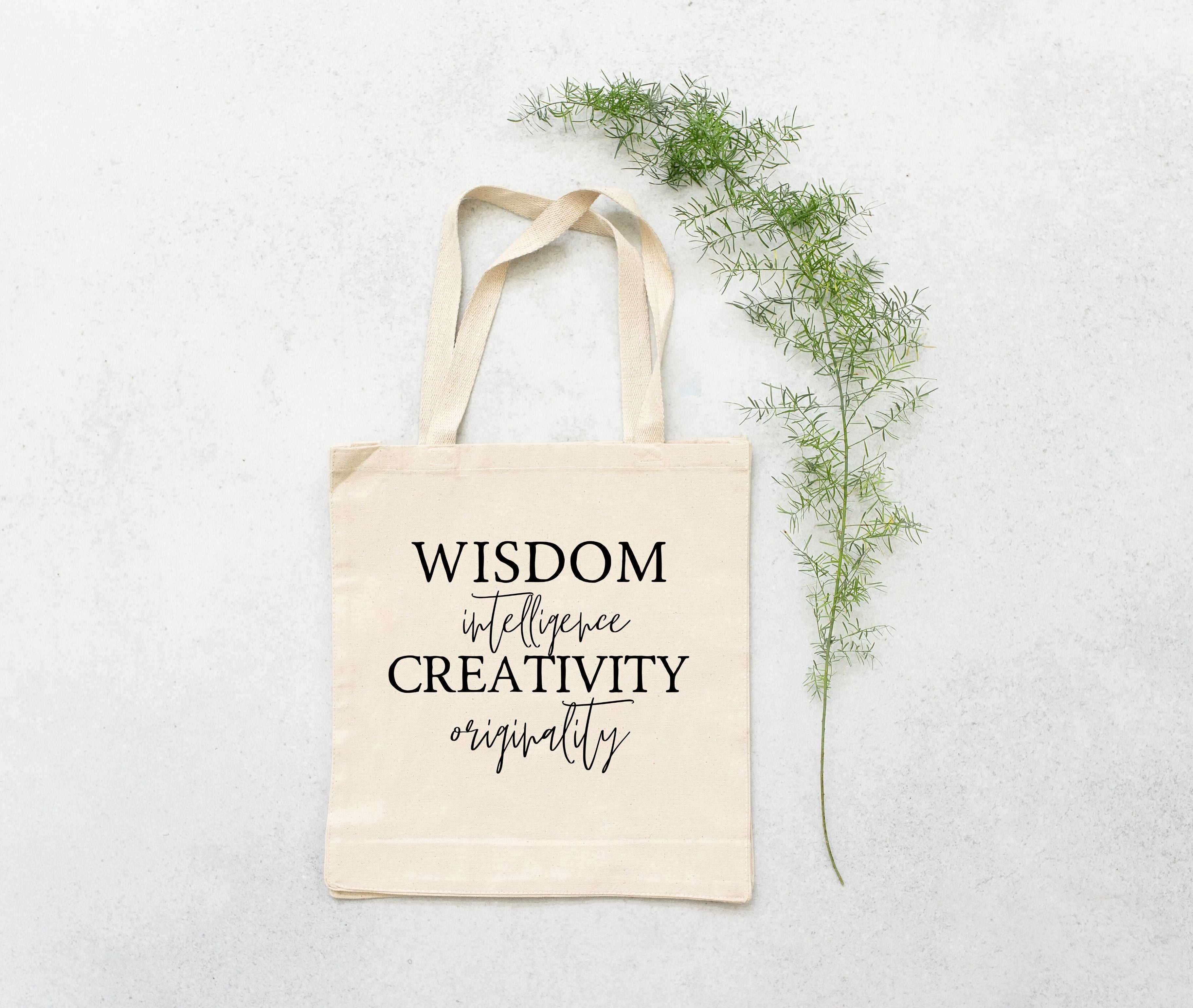 """House of the Wise"" Book Tote"