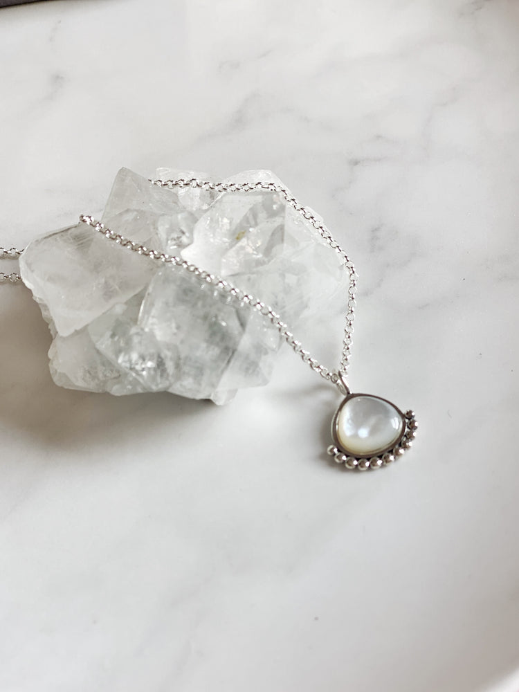 Mother of Pearl Rosie Necklace