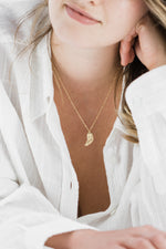 Angel Wing Satelite Chain Necklace