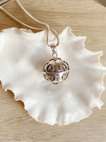 Sterling Silver Heart Harmony Ball