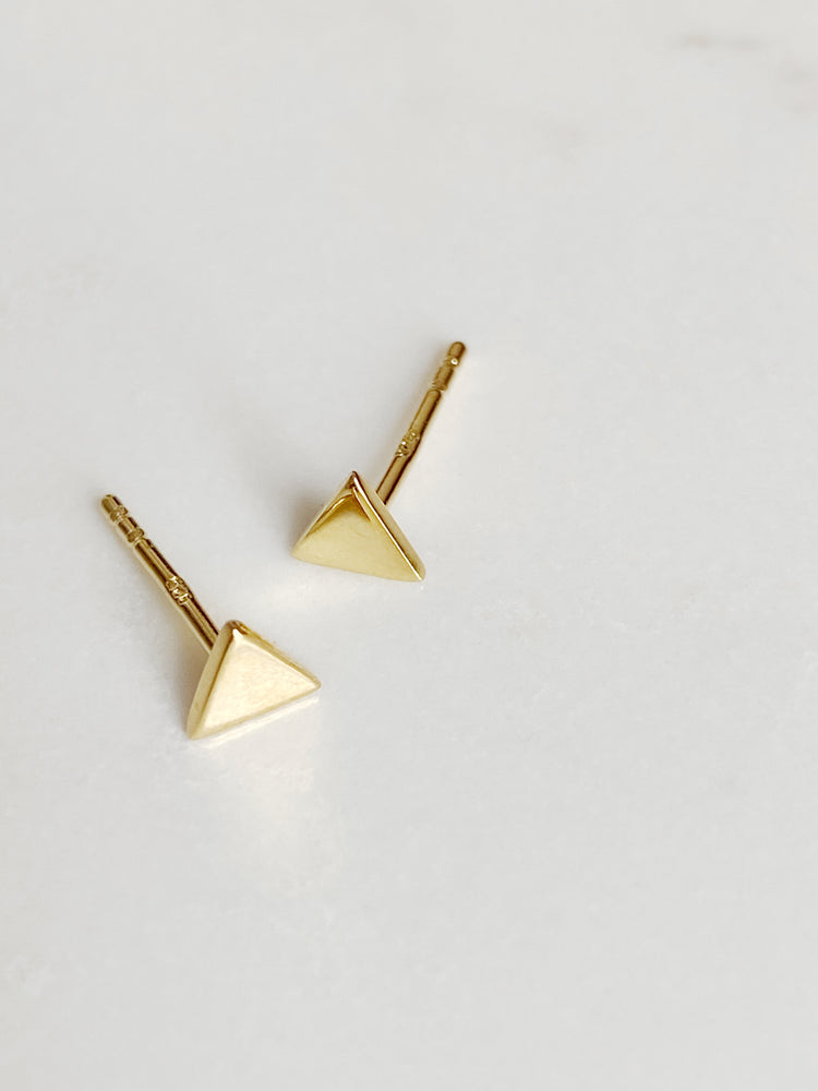 Tiny Triangle Stud