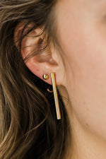 Small Pointed Front Earring
