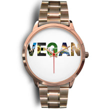 Load image into Gallery viewer, Vegan Rose Gold Watch