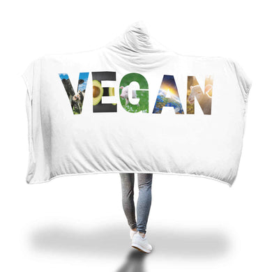 Vegan Hooded Blanket