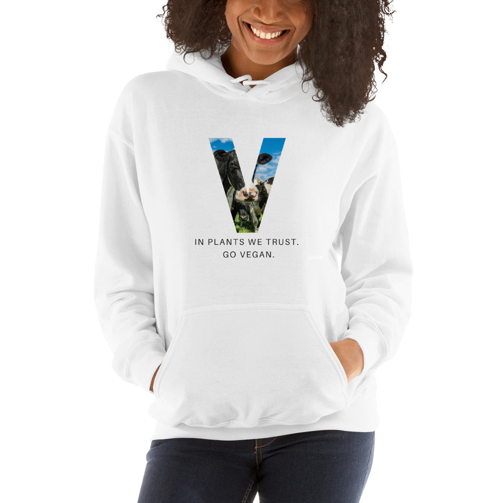 Vegan Hooded Sweatshirt