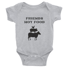 Load image into Gallery viewer, Friends Not Food | Infant Bodysuit
