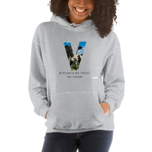 Load image into Gallery viewer, Vegan Hooded Sweatshirt