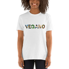 "Load image into Gallery viewer, ""Vegano"" Short-Sleeve Unisex T-Shirt"