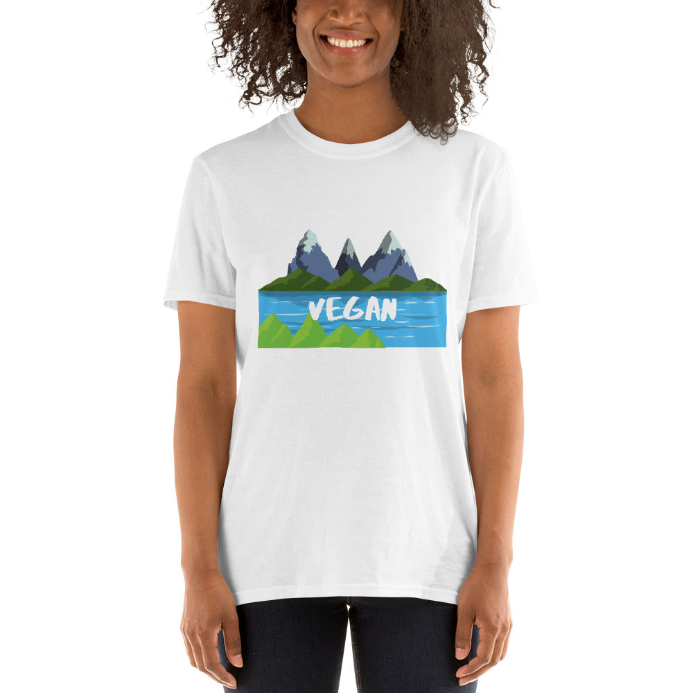 Mt. Vegan 2 | Short-Sleeve Unisex T-Shirt