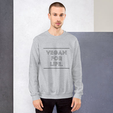 VEGAN FOR LIFE. Sweatshirt