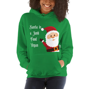 """Santa is a Junk Food Vegan"" 