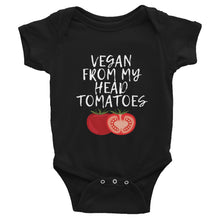 Load image into Gallery viewer, Vegan From My Head Tomatoes | Infant Bodysuit
