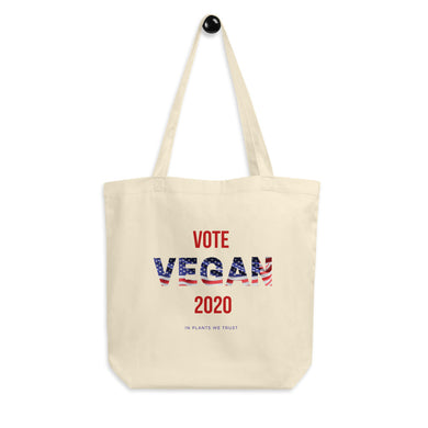 Vote Vegan 2020 Eco Tote Bag
