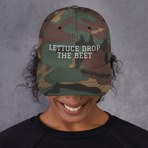 LETTUCE DROP THE BEET | Dad hat